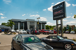 Boucher Buick GMC Dealership Exterior