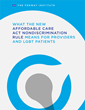 New Policy Brief From The Fenway Institute Outlines Impact HHS health Nondiscrimination Regulation Will Have on Healthcare Providers, Insurers, & Transgender Patients