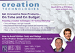 Creation Technologies to Present 'How to Avoid Hidden Costs and Delays in the Product Design-to-Commercialization Cycle' Workshop at PCB West 2016