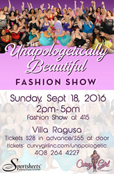 "Chrystal Bougon, Founder of Curvy Girl Lingerie, announces 2016 Fashion Show ""Unapologetic"""