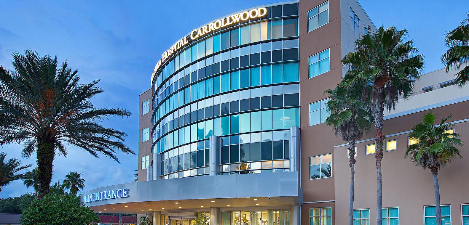 Florida Hospital Carrollwood Earns Prestigious Award For