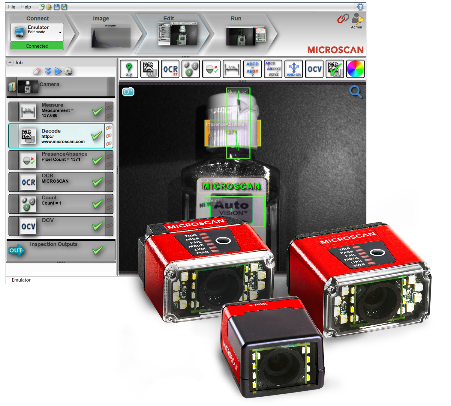 Microscan Releases Autovision 174 Machine Vision Software For