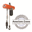 American Crane & Equipment Corporation Increases Columbus McKinnon Product Offerings