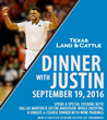 Mavs' Justin Anderson to Host Special Dinner on 9/19