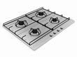 The Non-Slip Cooktop Grate makes cooking safer and easier.