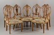 19th C. Hepplewhite Style Dining Chairs