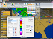 The weather alerts software is user-friendly and feature-rich, providing up-to-the-second data.