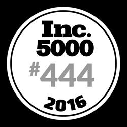 Inc. 5000 #444 2016