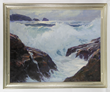 Emile Gruppe, Bass Rocks, Gloucester, Oil on Canvas