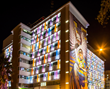 Children's Hospital of San Antonio, with a Lamberts channel glass facade by Bendheim Wall Systems