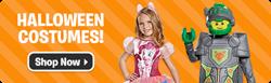 Costumes, Treat Bags, Halloween Decor