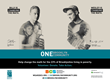 Poster of Billy Magnussen & Wesley Taylor for Brooklyn Community Services (BCS) 2016 ONE Brooklyn Community MTA Subway Campaign