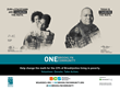 Poster of Staceyann Chin & Toshi Reagon for Brooklyn Community Services (BCS) 2016 ONE Brooklyn Community MTA Subway Campaign