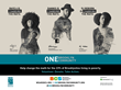 Poster of Raye 6, Dannis Winston & DJ Reborn for Brooklyn Community Services (BCS) 2016 ONE Brooklyn Community MTA Subway Campaign