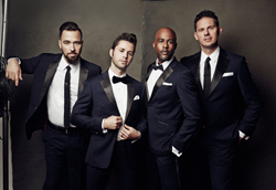 The Company Men blend songs from a diverse spectrum of artists including The Four Tops, Michael Jackson, The Temptations, Billy Joel, Prince Meghan Trainor, Bruno Mars and more.