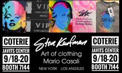 Steve Kaufman Art of Clothing at 2016 NYC Fashion Show