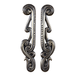 Distinctive Door Pull - An Abstract Mythical Design By Martin Pierce