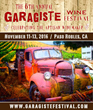 "Garagiste Wine Festival Comes Home to ""Best Wine Country Town"": Paso Robles November 11th – 13th"