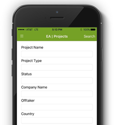 Energy Acuity's Mobile App