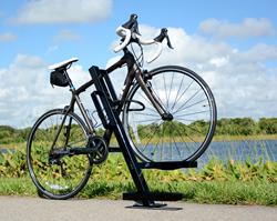 uplift bike dock bicycle parking rack