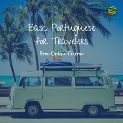 """Basic Portuguese for Travelers"" free online course."