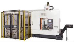 Midwest Precision's new Mazak Multi-axis Mill/Turn Center includes a robotic loader