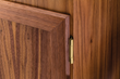 Hinges are easily reversible for left or right mounting (hinge pins are fixed).