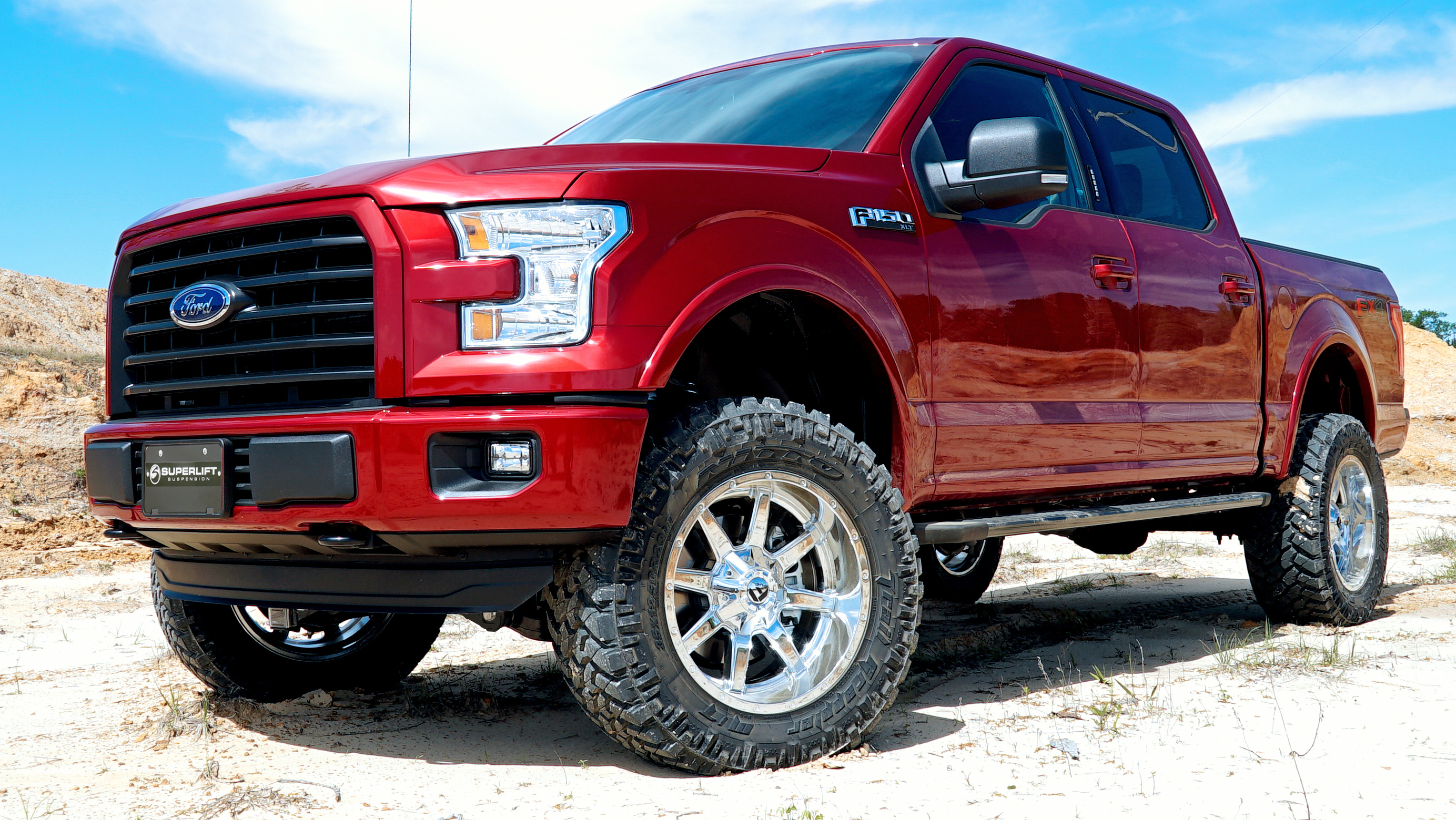 Superlift Announces New Lift Systems For The 2015 2016 Ford F150