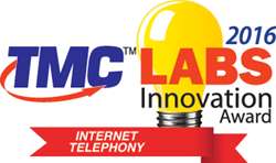 Dash Unlimted wins 2016 Internet Telephony & TMC Lab Innovation Award