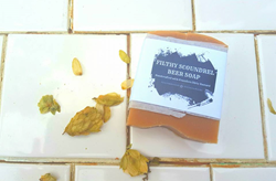 Filthy Scoundrel Beer Soap Bar from Serene Body Essentials.