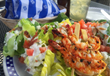 Duke's Cherry Bibb Lettuce & Wild Pacific Prawn Salad