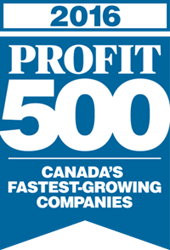 LOGiQ3 ranks 284 on PROFIT 500 2016