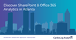 CardioLog Analytics Ignites SharePoint & Office 365  Portal Productivity at Microsoft Ignite