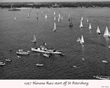 1957 St. Petersburg to Habana Regatta