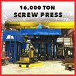 Ellwood Texas Forge Navasota LLC commissions 16,000 Ton Screw Press
