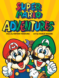 The long out-of-print SUPER MARIO ADVENTURES graphic novel returns this October 11th