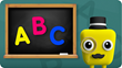 Tracing ABCs from Kidoodle.TV