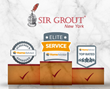 Home Advisor Awards Sir Grout of New York the Elite Service Recognition for Superior Customer Service