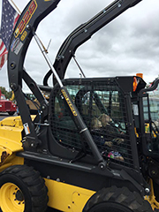 Children explore heavy-duty trucks and equipment at Touch-A-Truck Event