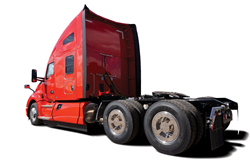 Semi with Aero Covers