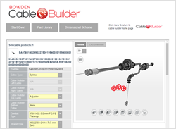 Grand Rapids Controls Launch BOWDEN CABLEBUILDER Interactive Configurator for Mechanical Control Cables built by CADENAS PARTsolutions