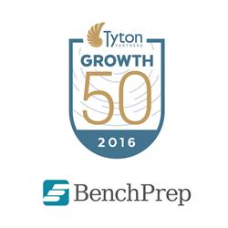 BenchPrep Selected for Prestigious Tyton Growth50 List