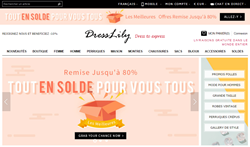DressLily New French Language Website