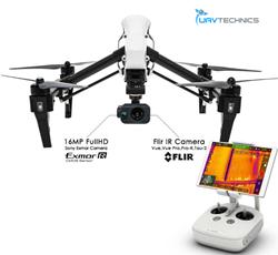 inspire thermal FLIR drone