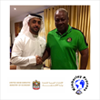 UAE KP Chair Ahmed Bin Sulayem with President of Ghana HE John Dramani Mahama
