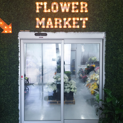 Miami Flower Market Entrance