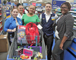 Andrews Federal Awards School Supplies Shopping Spree for Member