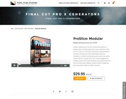 FCPX - ProSlice Modular - Pixel Film Studios Plugin