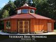 American Metal Roofs Donates Roof for a New American Veteran Memorial in Michigan