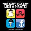 Pirata Couture Social Media Logos